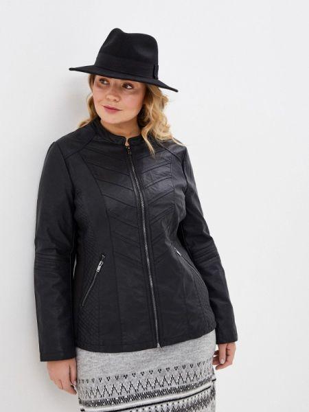 Кожаная черная кожаная куртка Evans