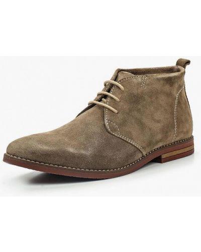 Ботинки демисезонный коричневый Pier One