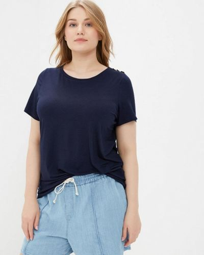 Синяя футболка Dorothy Perkins Curve