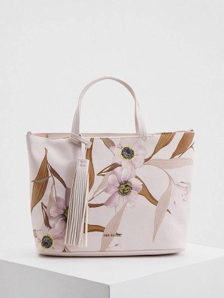 Кожаная сумка с ручками из искусственной кожи Ted Baker London