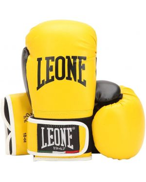 Żółte rękawiczki skorzane Leone 1947