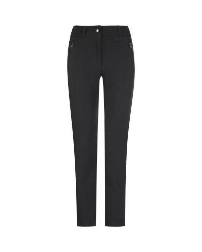 Зауженные черные утепленные спортивные брюки Icepeak