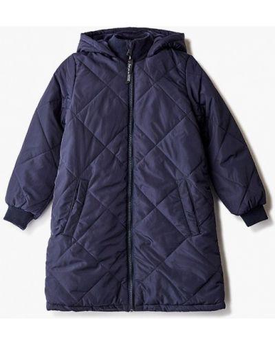 Утепленная синяя куртка Acoola