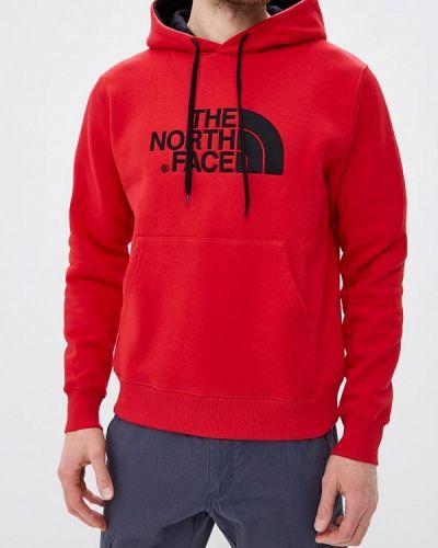 Красная толстовка The North Face