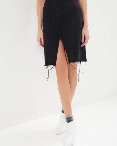 Джинсовая юбка осенняя Glamorous