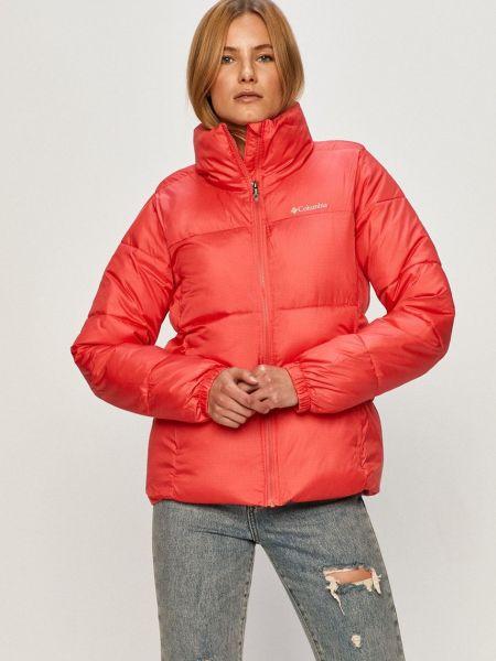Оранжевая утепленная с рукавами куртка Columbia