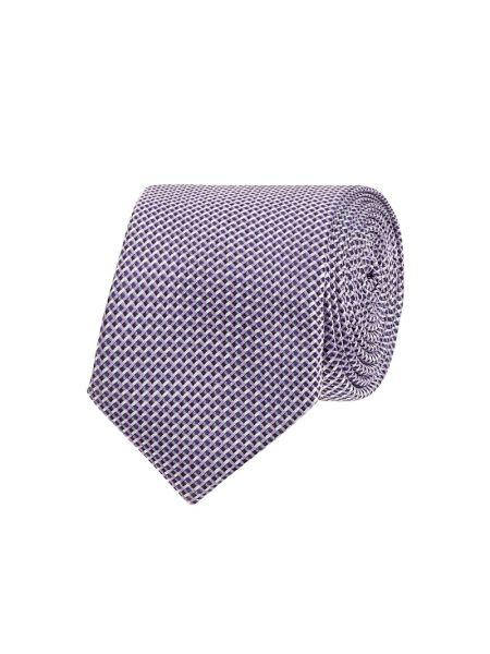 Krawat wąskie cięcie, fioletowy Boss