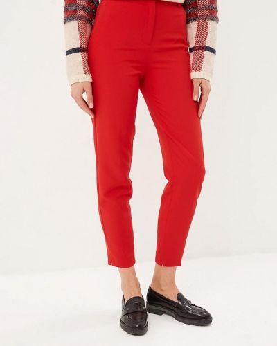 Красные брюки повседневные Zarina