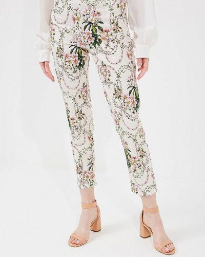 Бежевые зауженные брюки Blugirl Folies