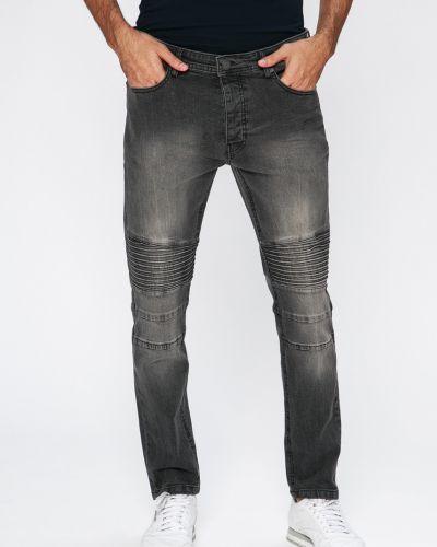 Серые джинсы-скинни Brave Soul