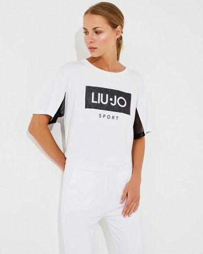 Спортивная футболка белая Liu Jo Sport