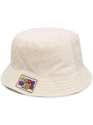 Хлопковая шапка - бежевая Gcds