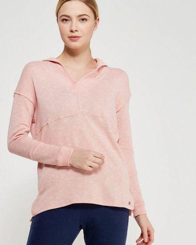 Розовая толстовка Roxy