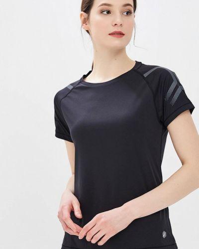 Спортивная футболка черная Asics