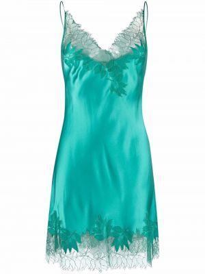 Кружевное платье - зеленое Carine Gilson