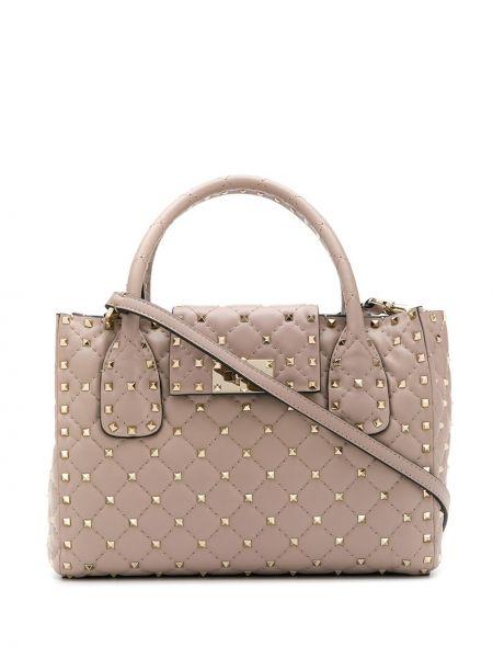 Skórzana torebka talia włoski Valentino