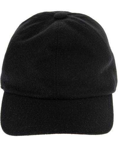 Czarna czapka z daszkiem Fedeli