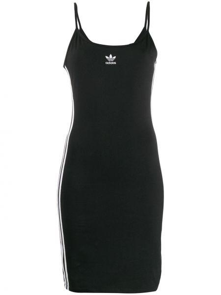 Платье в полоску на бретелях Adidas