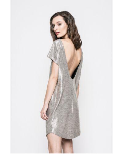 Платье мини прямое однотонное Answear