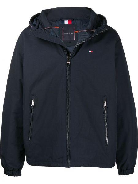 Куртка с капюшоном на молнии с логотипом Tommy Hilfiger
