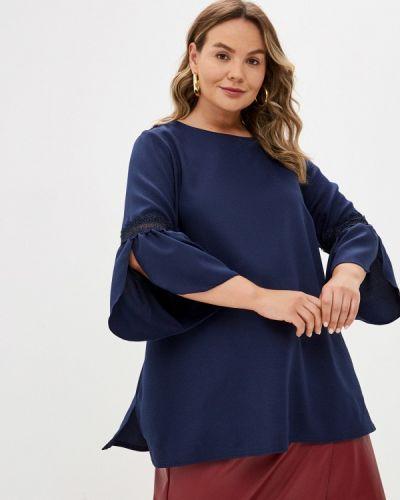 Синяя весенняя блузка Prewoman