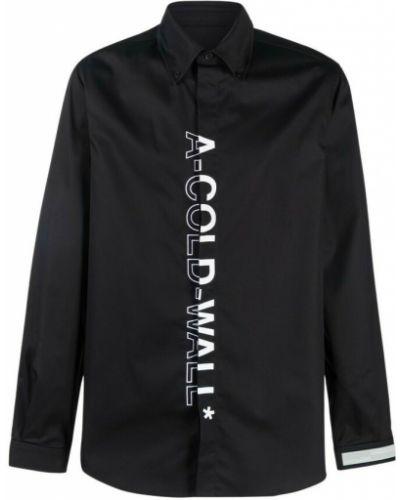 Czarna koszula A-cold-wall*