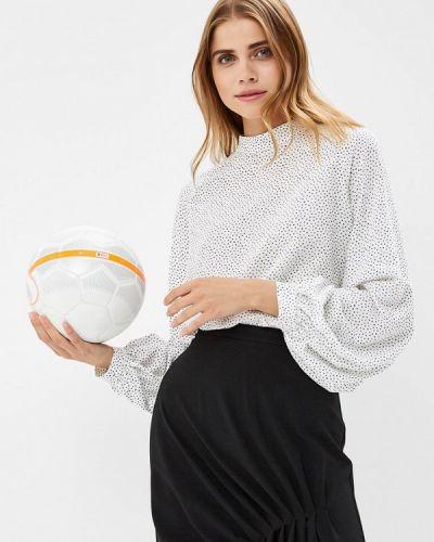 Блузка с длинным рукавом белая Burlo