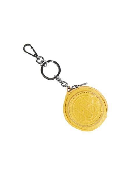 Żółty portfel z zamkiem błyskawicznym Esprit