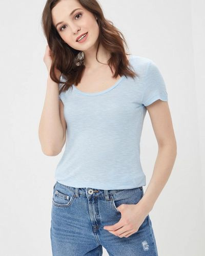 Голубая футболка Vero Moda