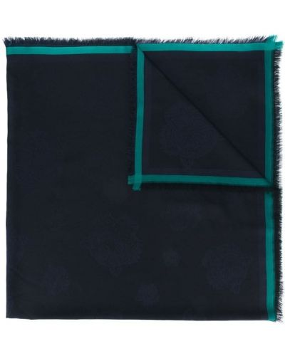 Синий платок Kenzo
