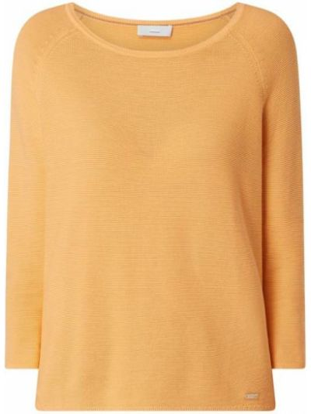Sweter bawełniany - pomarańczowy Cinque