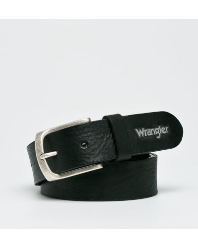 Ремень кожаный с пряжкой Wrangler