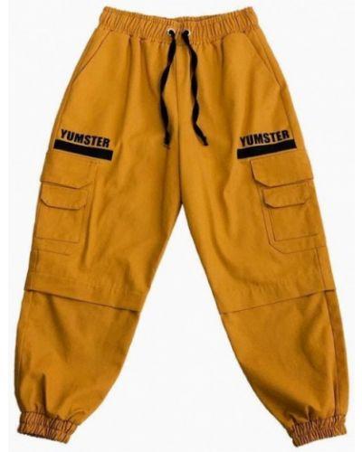 Оранжевые брюки Yumster