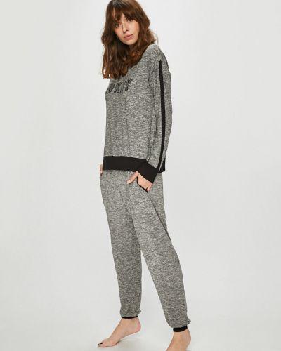 Пижама в полоску с карманами Dkny