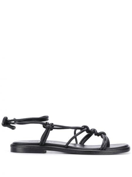 Черные сандалии Hereu