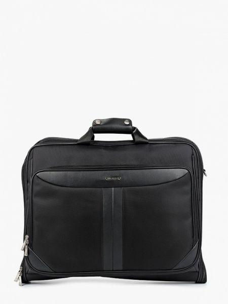 Черная нейлоновая дорожная сумка со шлейфом Henderson
