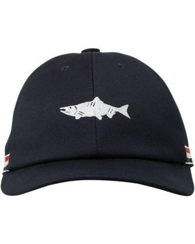 Czarna czapka Thom Browne