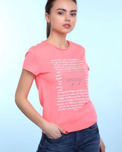 Розовое поло S.oliver