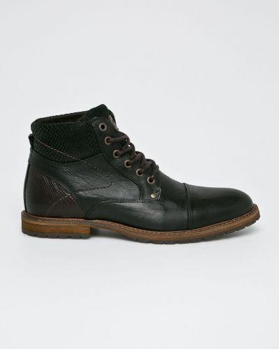 Кожаные ботинки текстильные повседневные Conhpol