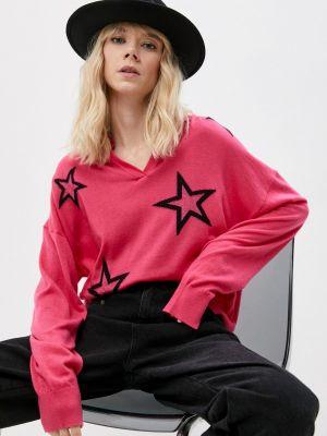 Розовый пуловер Twinset Milano