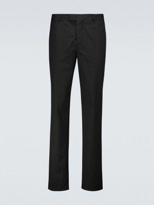 Czarne spodnie bawełniane Orlebar Brown
