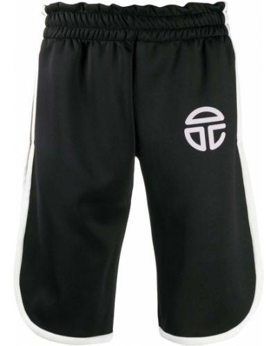 Черные шорты с карманами Telfar