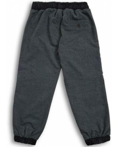 Czarne spodnie z wiskozy Il Gufo