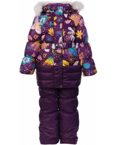 Костюм зимний фиолетовый Oldos
