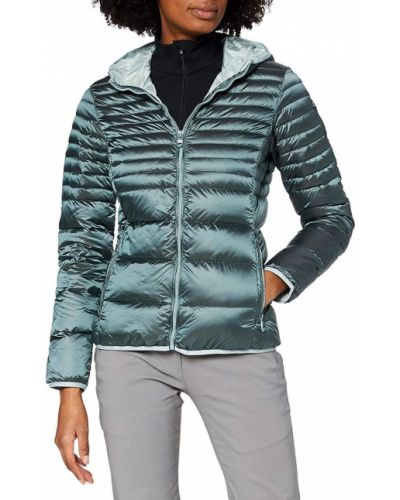 Пуховая куртка с капюшоном на молнии Cmp