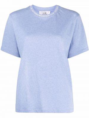 Синяя футболка с короткими рукавами Victoria, Victoria Beckham