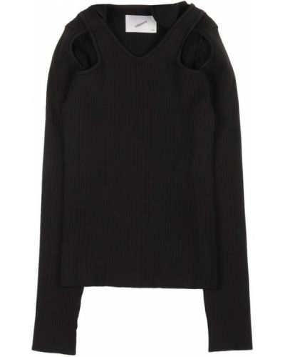 Czarny sweter Coperni