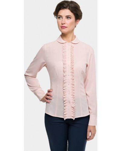 Блузка с длинным рукавом розовая польская Vera Moni