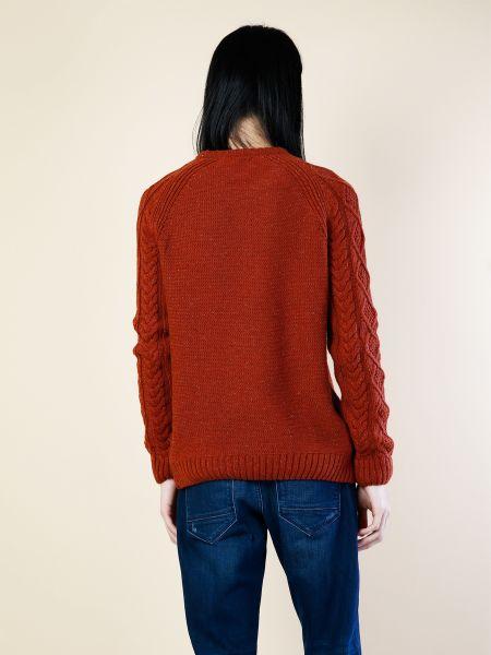 Шерстяной свитер круглый с вырезом Colin's