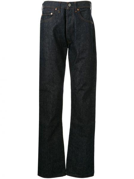 Расклешенные джинсы с карманами на пуговицах винтажные из вискозы Fake Alpha X Levi's Vintage